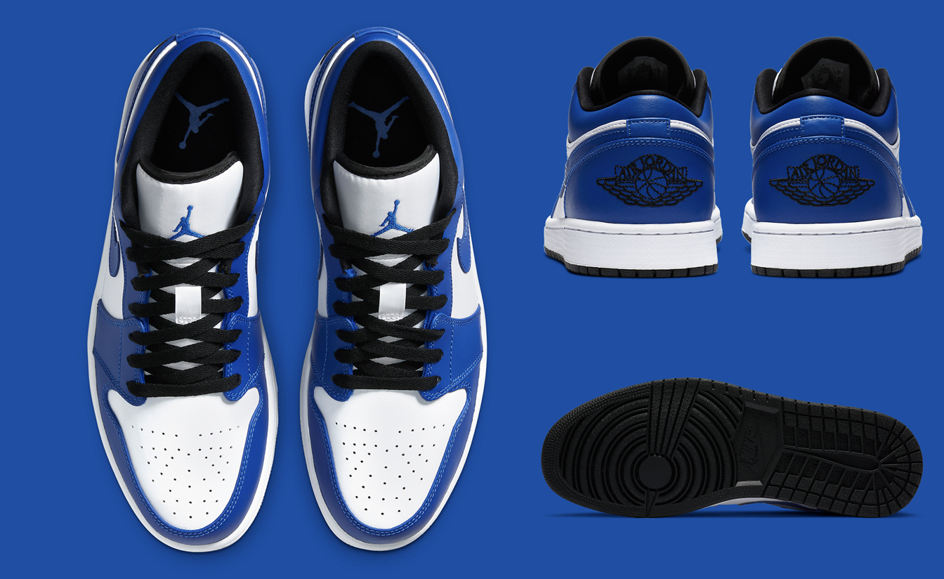 "air jprdan 1 low ""game royal"""